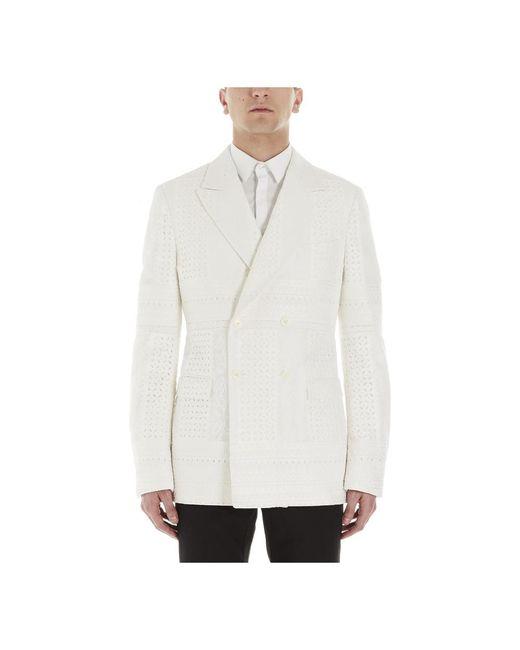 Alexander McQueen Jacket in het White voor heren