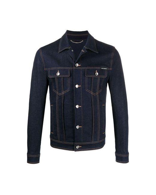 Giacca di Dolce & Gabbana in Blue da Uomo