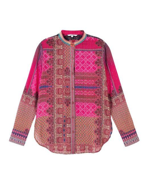 Desigual Shirt in het Pink