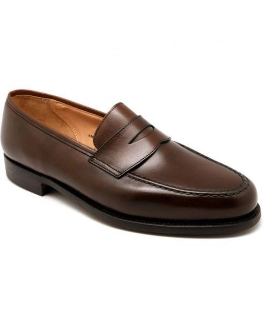 Crockett and Jones Boston Shoes in Brown für Herren
