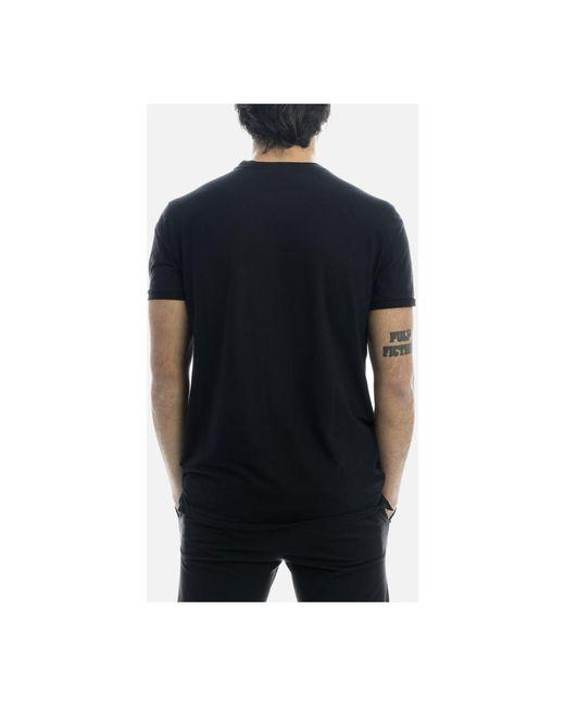 T-shirt Negro Rrd de hombre de color Black