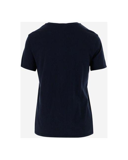 T-shirt Azul Aspesi de color Blue