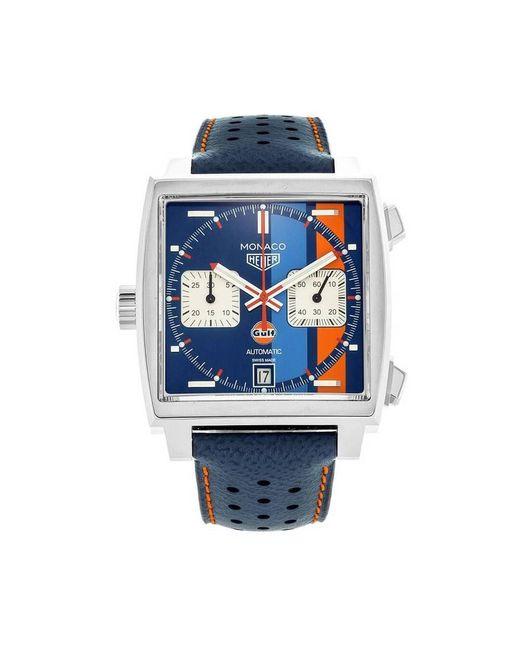Monaco watch Tag Heuer pour homme en coloris Blue