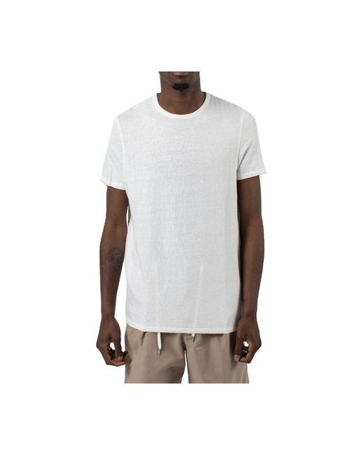 Majestic Filatures T-shirt in het White voor heren