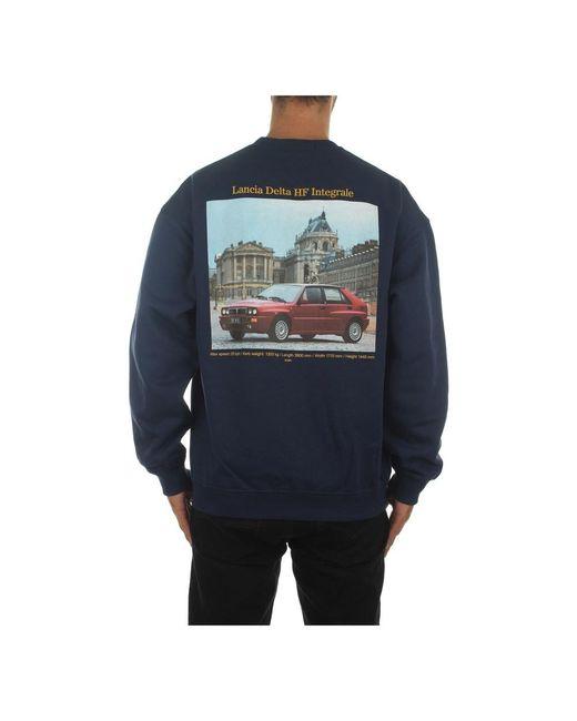 Iuter 20wisc66 Sweatshirt in het Blue voor heren