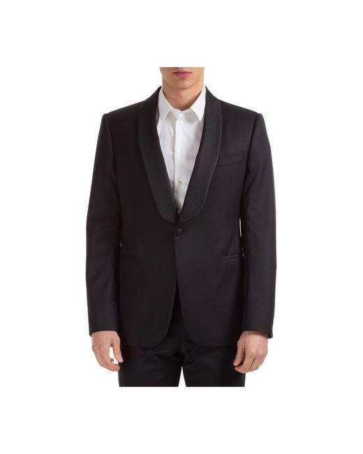 Emporio Armani Men's Jacket Blazer in het Black voor heren