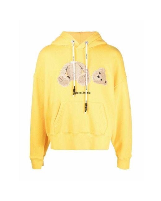 Palm Angels Sweater in het Yellow voor heren