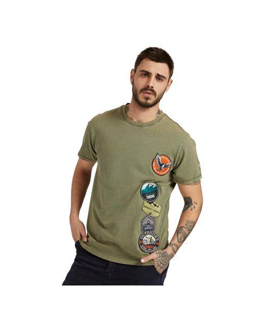 Guess M1yi00 Kag00 T-shirt in het Green voor heren