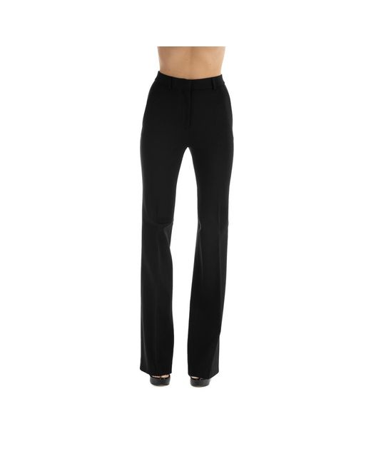 Trousers di Alberta Ferretti in Black