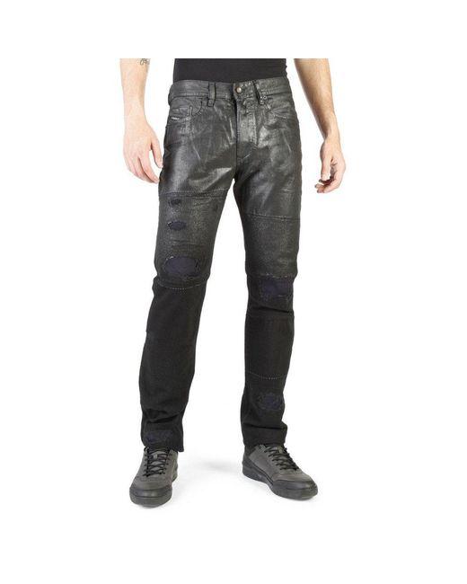 Jeans Buster di DIESEL in Black da Uomo