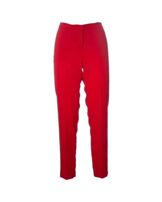 Ermanno Scervino Pants in het Red