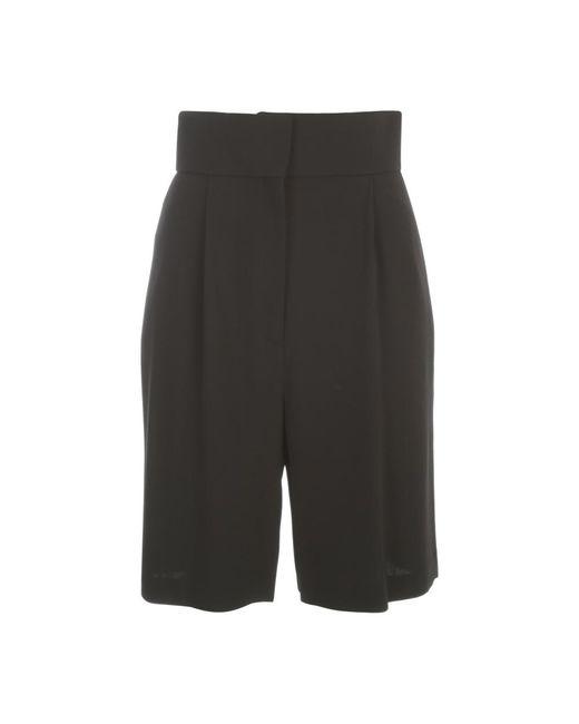 Fabiana Filippi High Waisted Shorts in het Black