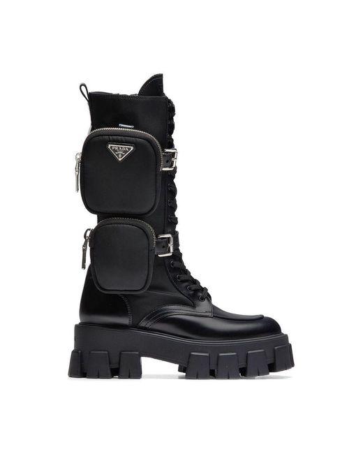 Prada Boots in het Black