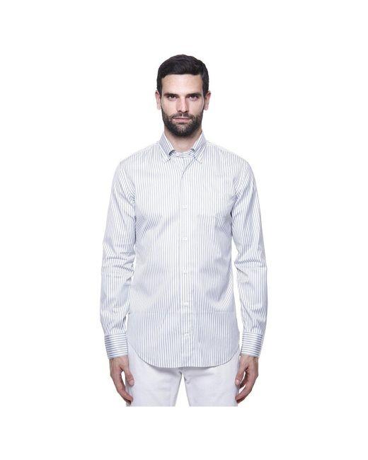 Eleventy Shirt in het White voor heren