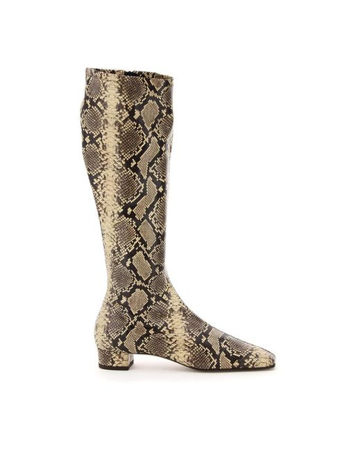 By Far Boots in het Natural