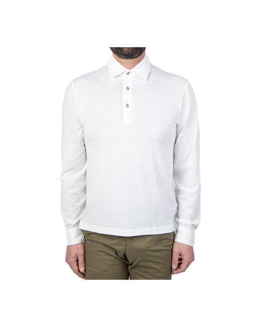 Herno T-shirt in het White voor heren