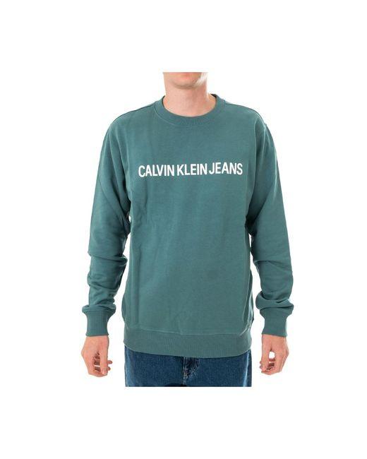 Calvin Klein Sweatshirt J30j307758.l8r in het Blue voor heren