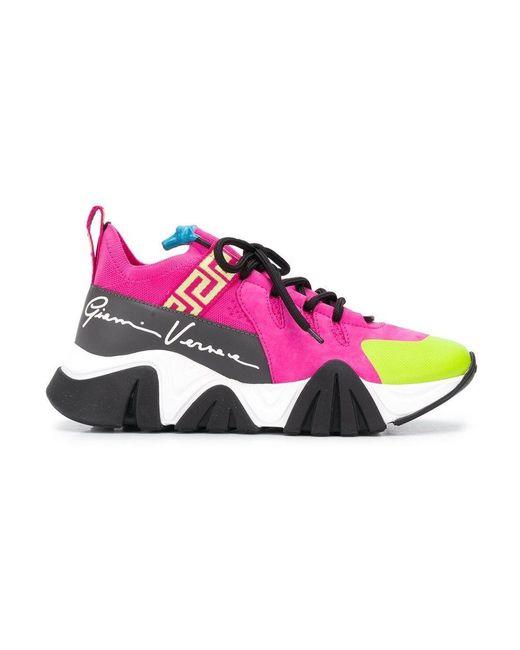 Versace Sneakers Calza in het Pink