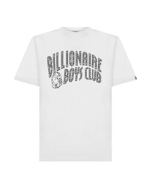 Billionaire T-shirt in het White voor heren