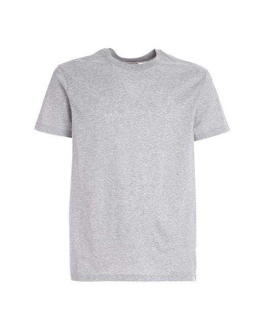 Ballantyne T.shirt Basica in het Gray voor heren
