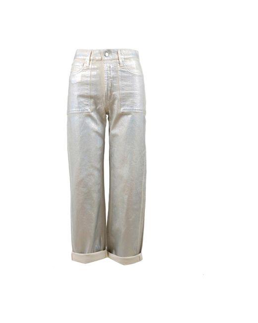 Trousers Helmut Lang en coloris Gray