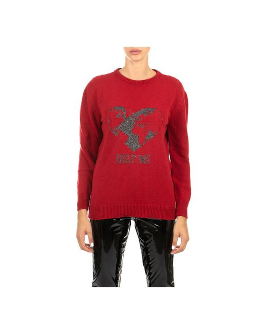 Alberta Ferretti Sweater in het Red
