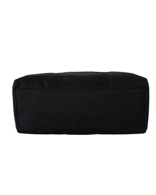 Dolce & Gabbana Shoulder Sling Travel Luggage Borse Nylon Bag in het Black voor heren