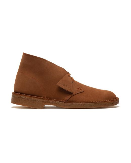 Clarks Flat Shoes in het Brown voor heren