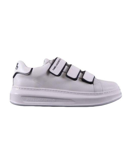 Karl Lagerfeld Sneakers Met Tranen in het White voor heren