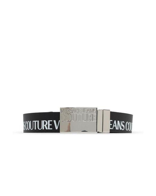 Versace Jeans Riem Met Logo in het Black voor heren