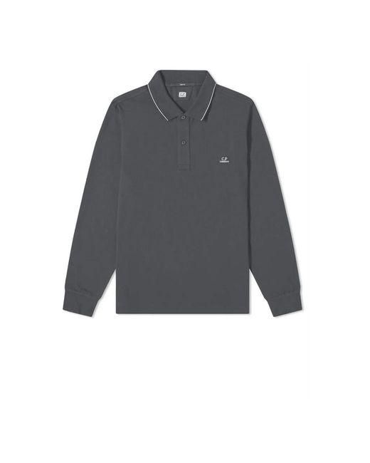 C P Company Polo in het Gray