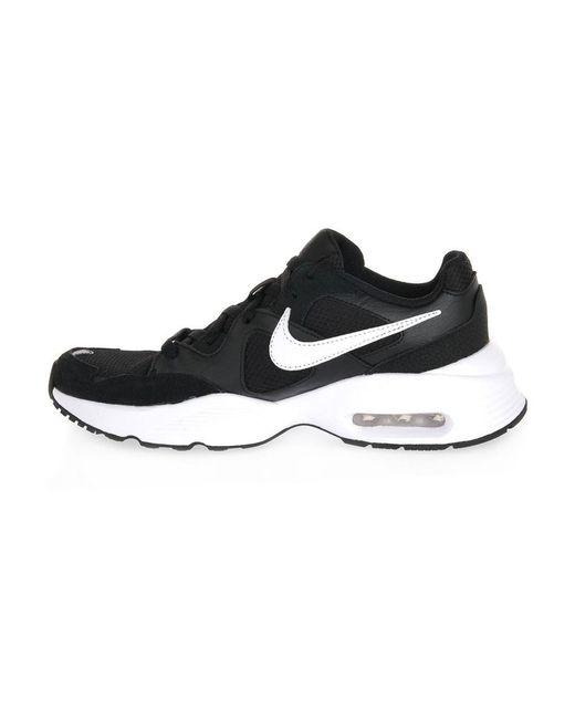 Nike Black AIR MAX Fusion