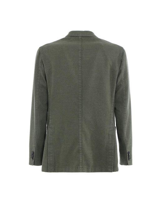Jacket Verde Boglioli de hombre de color Green