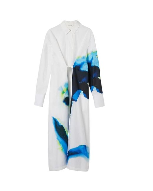 Parole Shirt Dress Sportmax en coloris White