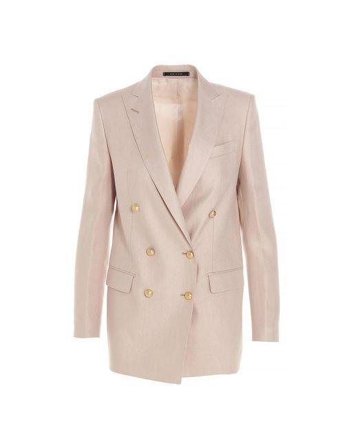 Tagliatore Jacket in het Pink