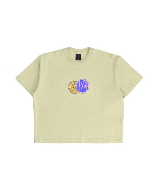 Obey Natural Bubble Man T-shirt