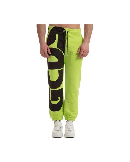 Sport tracksuit Macro Logo Gcds pour homme en coloris Green
