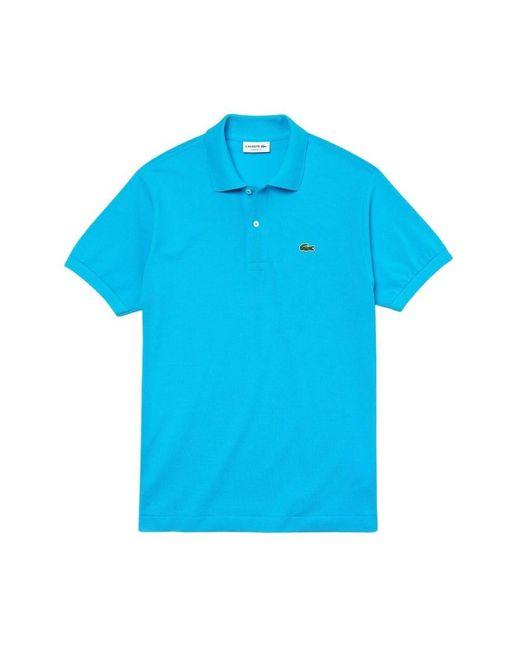 Lacoste Best Polo Manica Corta Uomo in het Blue voor heren