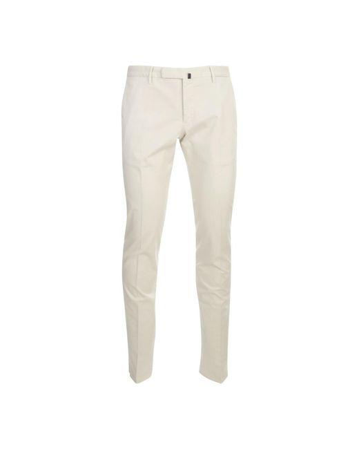 Incotex Slim Fit Pants in het Natural voor heren