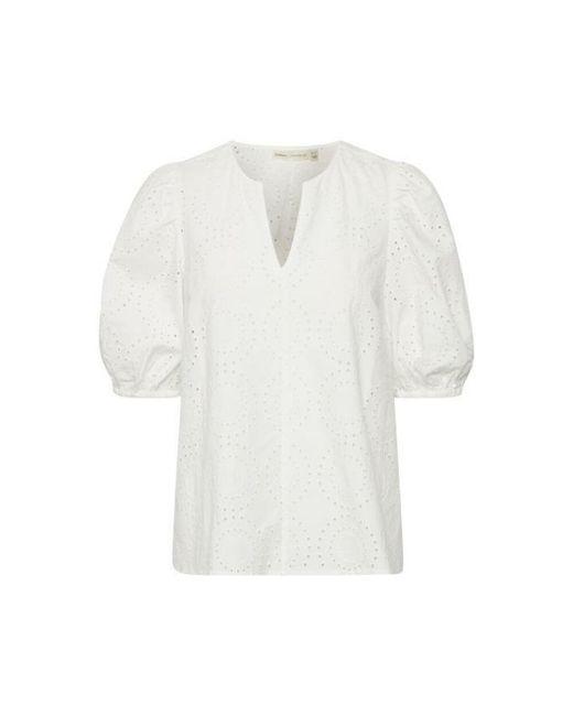 Inwear Harleneiw Debby Blouse in het White