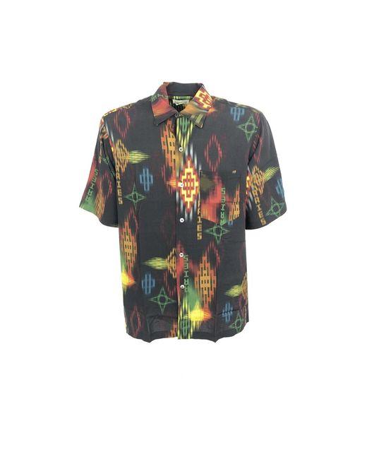 Aries Hawaiian Shirt in het Black voor heren