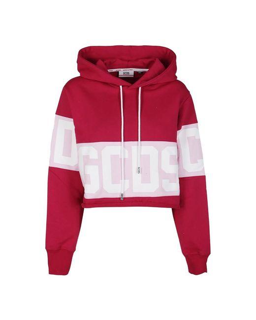 Hoodie Gcds en coloris Pink