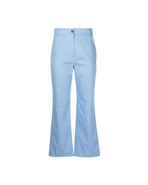 MSGM Trousers in het Blue