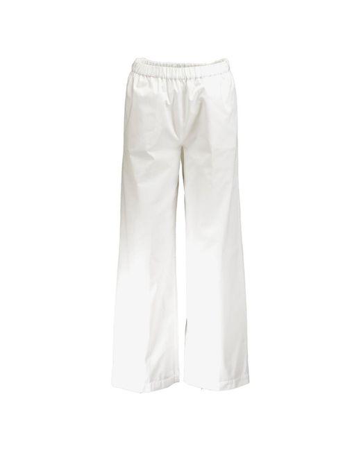 Pantalone ampio di Aspesi in White