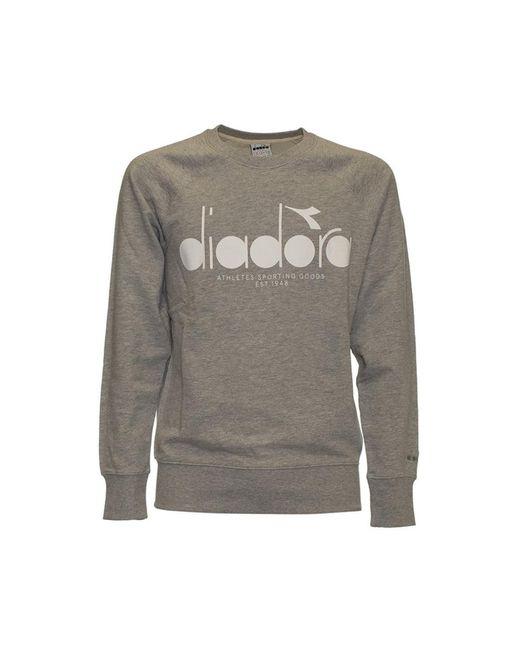 Diadora Sweatshirt in het Gray voor heren
