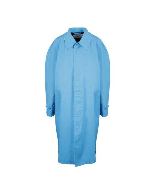 Balenciaga Zip Carcoat in het Blue