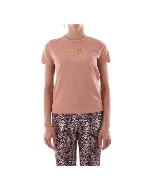 Elisabetta Franchi Pink Ma15906E2 T-Shirt