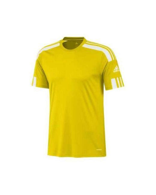 T-Shirt di Adidas in Yellow da Uomo
