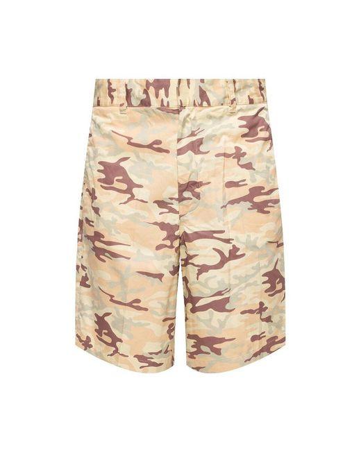 DIESEL Camo Shorts in het Brown voor heren