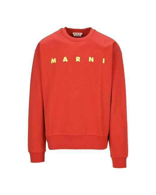 Maglieria Fumu0074P0S25495 di Marni in Red da Uomo